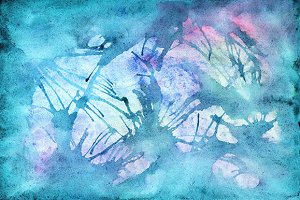Watercolor water abstract texture