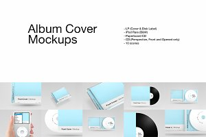 Album Cover Mockups