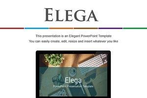 Elega PowerPoint Presentation