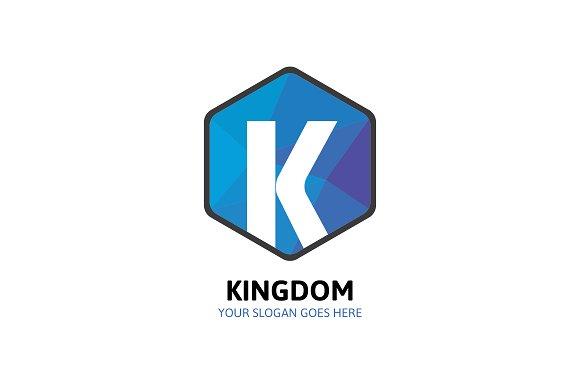 Hexagon Kingdom Logo - Letter K - Logos