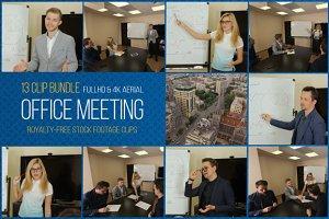 Office Meeting: 13 Clip Bundle