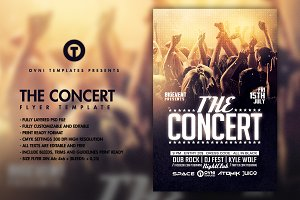 THE CONCERT BAND Flyer Template