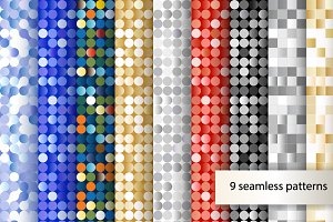 Seamless sequins backgrounds