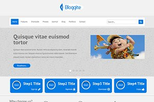 PS Bloggite-Business Joomla Template