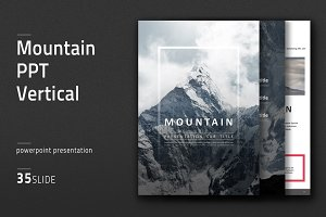 Mountain PPT Vertical