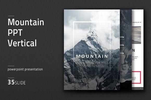 Mountain PPT Vertical