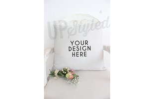A194 Cushion Stock Photo Mock Up