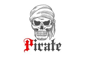 Dead pirate tattoo