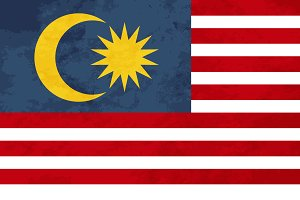 True proportions Malaysia flag