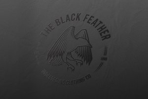 The Black Feather - Logo