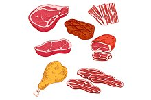 Fresh and grilled meat products