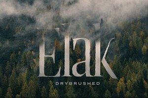 Elak Typeface - The Sun-baked Serif