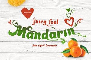 Juicy font Mandarin