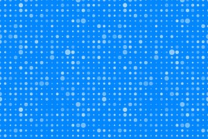 A lot of dots on blue background