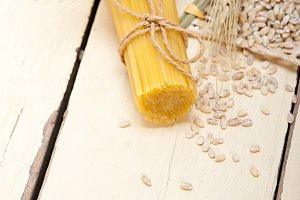 Italian pasta and durum wheat
