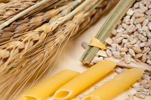 Italian pasta and durum wheat