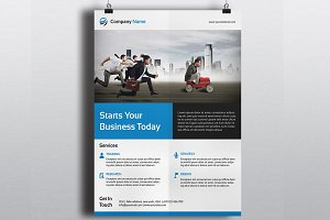 Corporate Flyer Template-V330