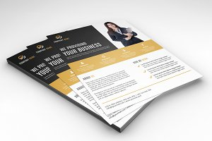 Corporate Flyer Template-V331