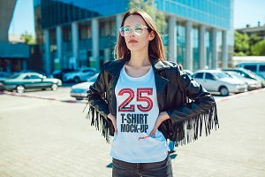 25 T-Shirts Mock-Up (Part 2)