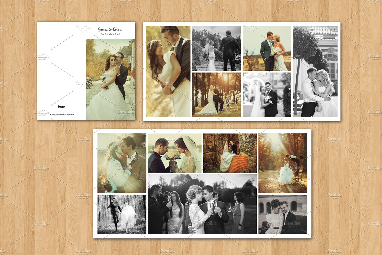 Wedding Mini Accordion Album-v557 ~ Brochure Templates ~ Creative Market