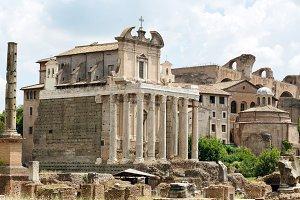 Rome Forum Italy