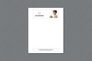 Photographer Letterhead -V333