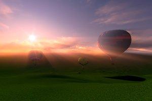 air ballooning festival
