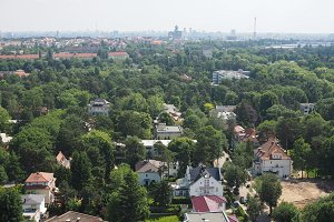 Aerial view of Berlin
