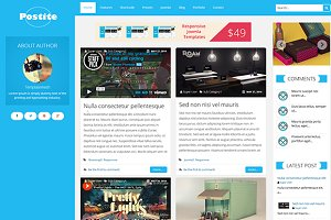 Postite-Blog Joomla Template