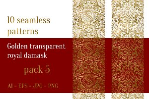 10 royal damask patterns Pack 5