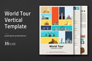 World Tour Vertical Template