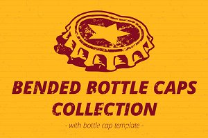 Bended Bottle Caps Collection