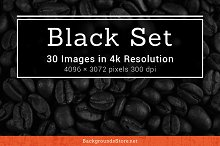 Black Textures Set
