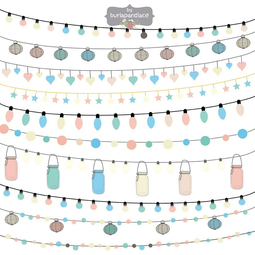 Lights color cliparts ~ Illustrations ~ Creative Market