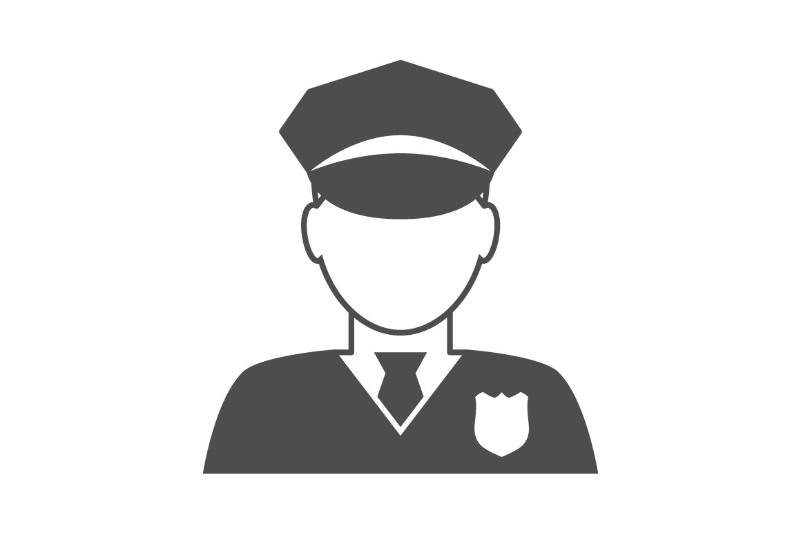 Police Officer Avatar Icon Graphics Creative Market