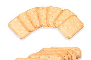 set of crackers