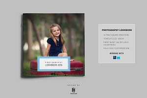 Photography Lookbook Square Brochure