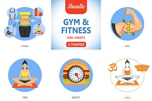 Gym and Fitness Themes