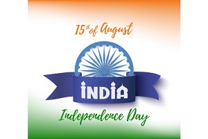 India Independence day background.