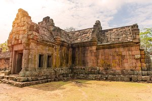 castle in Prasat Hin Phanom rung