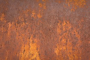 Rust texture of metal plate