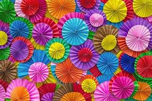 Paper folding multi colored