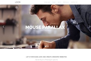 Look - Creative WordPress Theme