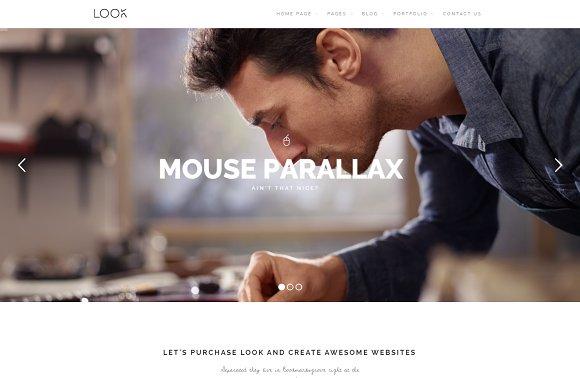 Look - Creative WordPress Theme