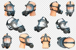 Safety pro mask, set