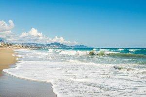 Beach of Alanya, Turkey