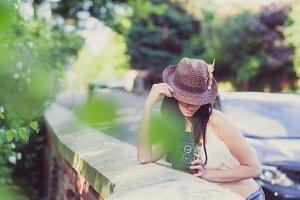 Hipster Tourist Girl