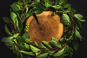 Schisandra chinensis wreath