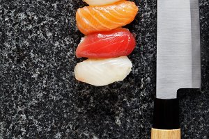 knife for making sushi