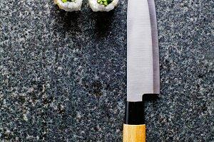 knife for making sushi